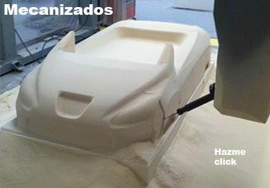 Mecanizados en poliespan, espuma de poliuretano y placas mecanizables