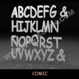 Comic densidad media