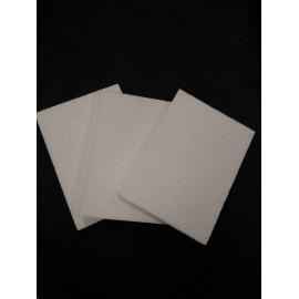 Pack 10 planchas 24,5cm x 18cm x 2cm