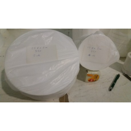 OFERTA Pack 5 uds. 25cm diámetro x 2cm D20