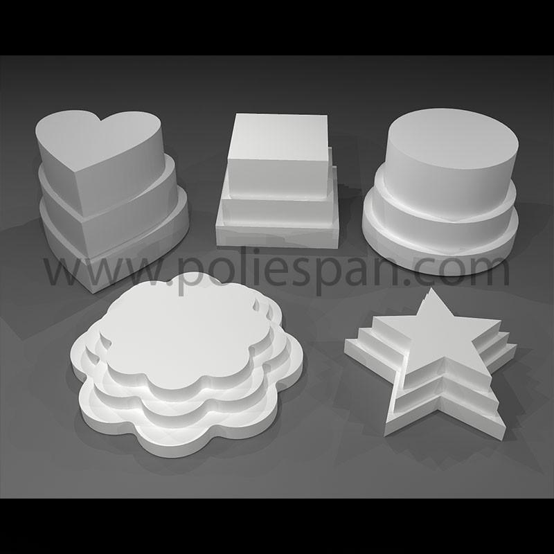 Bolas de diferentes medidas en poliespan porex poliexplan - Manualidades corcho blanco ...