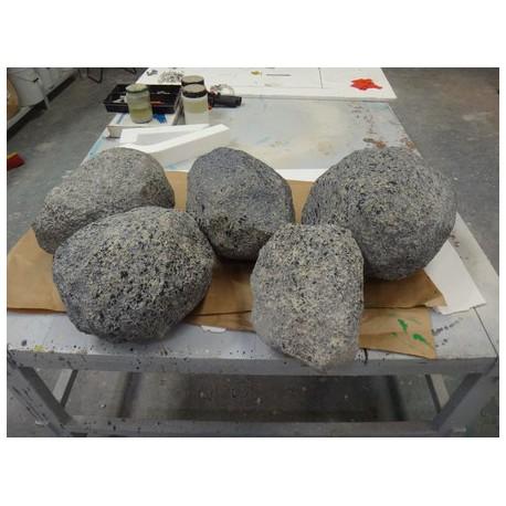 Rocas o piedras de Poliespan Imitación Granito