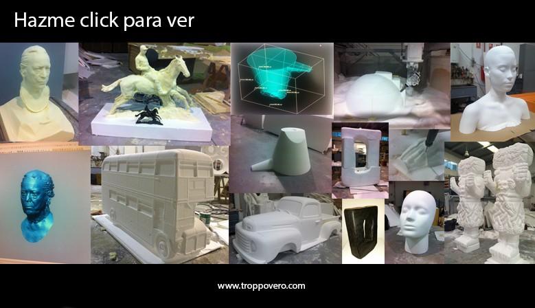 Ampliación de Esculturas